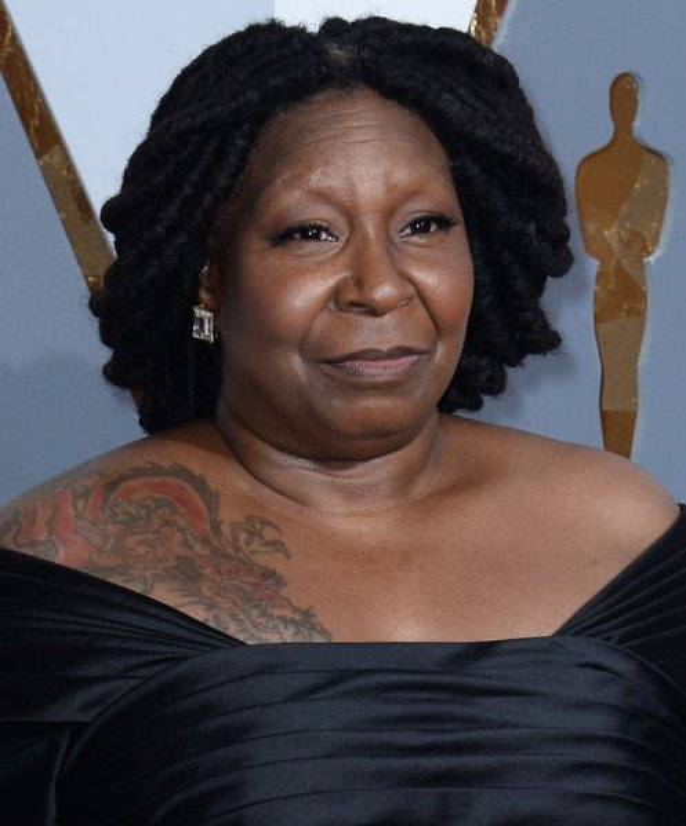 Oprah winfrey responds to being mistaken for whoopi for Whoopi goldberg tattoo