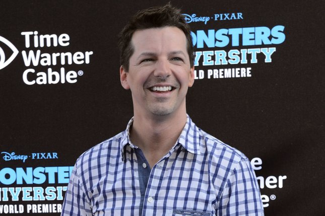 Act of God star Sean Hayes is seen at the Monsters University premiere in Los Angeles on June 17, 2013. File photo by Jim Ruymen/UPI