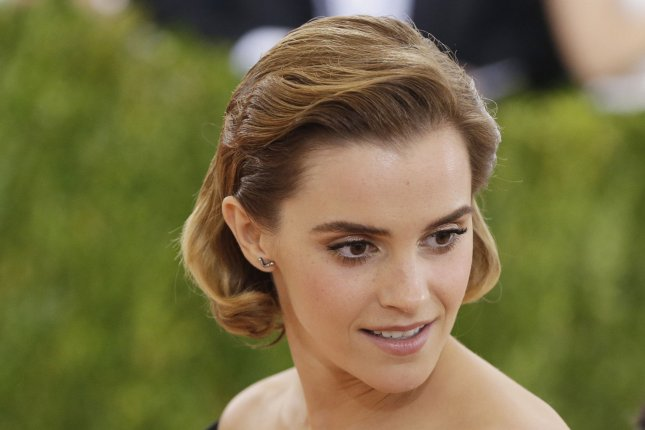 Emma Watson at the Costume Institute Benefit at the Metropolitan Museum of Art on May 2. The actress plays Belle in Beauty and the Beast. File Photo by John Angelillo/UPI