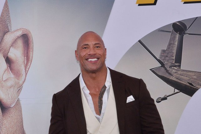 Cast member Dwayne Johnson attends the premiere of the motion picture action and adventure film Fast & Furious Presents: Hobbs & Shaw in Los Angeles on July 13, 2019. File Photo by Jim Ruymen/UPI