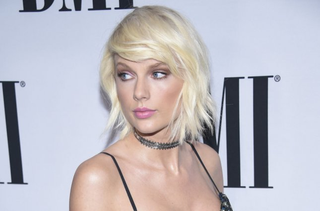Taylor Swift attends the 64th Annual BMI Pop Awards held at the Beverly Wilshire in Beverly Hills, Calif., on May 10, 2016. Swift has been named the highest-paid woman in music for 2016 by Forbes. Adele came in second. File photo by Phil McCarten/UPI