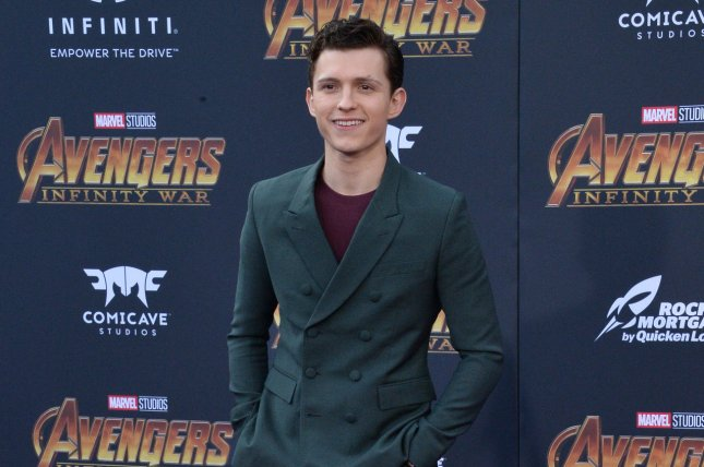 Tom Holland stars in the new trailer for Spider-Man: Far From Home, alongside Jake Gyllenhaal. File Photo by Jim Ruymen/UPI.