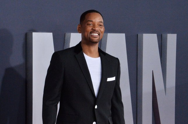 Will Smith plays two roles in Gemini Man, 51-year-old Henry and 23-year-old Junior. Photo by Jim Ruymen/UPI
