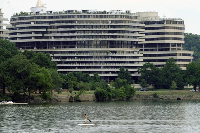 On February 7, 1973, the U.S. Senate voted to set up a committee to investigate a break-in at the Democratic National Headquarters in Washington's Watergate complex. File Photo by Alexis C. Glenn/UPI