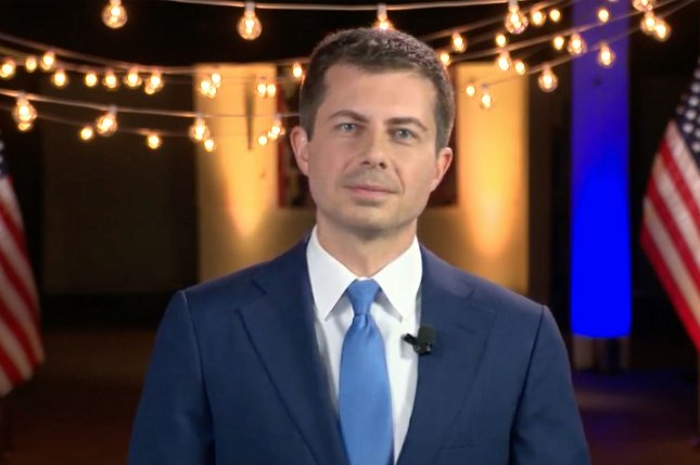 President-elect Joe Biden announced Tuesday former South Bend, Indiana, mayor Pete Buttigieg (shown) as transportation secretary nominee. UPI File Photo