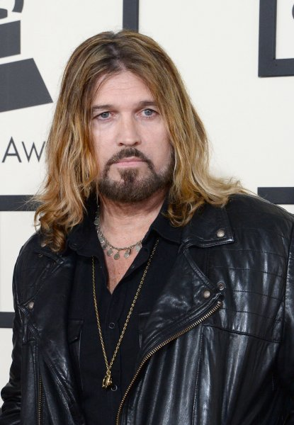 Billy Ray Cyrus arrives for the 57th Grammy Awards at Staples Center in Los Angeles on February 8, 2015. The country asinger and Still The King actor performed opposite Cheap Trick during Wednesday's CMT Awards. File Photo by Jim Ruymen/UPI