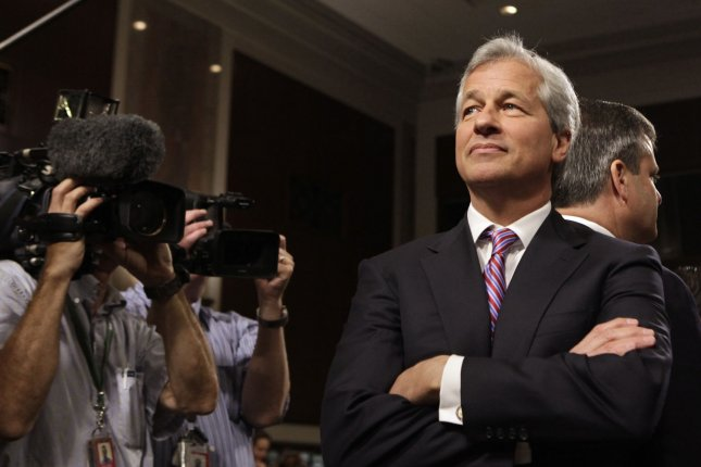 JPMorgan Chase and Company CEO Jamie Dimon said the U.S. economy is split in two -- those who benefit from the success of corporations and those left behind. File Photo by Yuri Gripas/UPI