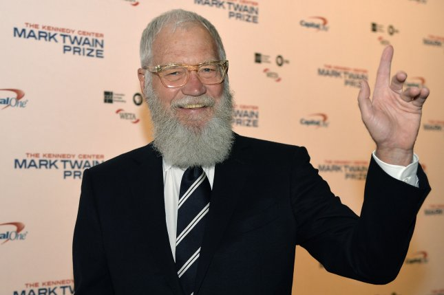 David Letterman discussed with Ellen DeGeneres why he should've left television 10 years earlier. File Photo by Mike Theiler/UPI