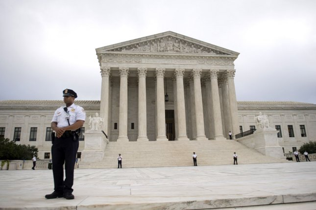 The high court reconvenes Monday facing several key cases, including one about the 2020 Census asking about a resident's citizenship status. File Photo by Kevin Dietsch/UPI