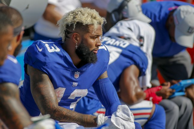 finest selection bfaec 21d14 Browns' Odell Beckham Jr. felt 'disrespected' by Giants ...