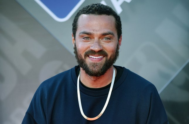 Jesse Williams attends the 2018 NBA Awards at Barker Hangar in Santa Monica, Calif., on June 25, 2018. The actor turns 40 on August 5. File Photo by Chris Chew/UPI