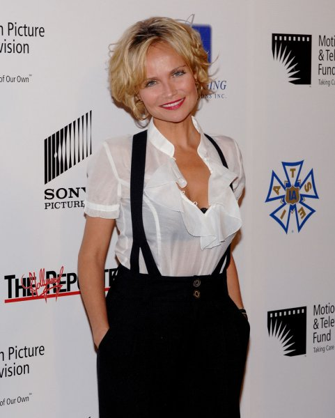 Actress Kristin Chenoweth attends the third annual A Fine Romance, an evening gala celebrating the love affair between Hollywood and Broadway in Culver City, California on October 20, 2007. The gala benefits the Motion Picture & Television Fund. (UPI Photo/Jim Ruymen)