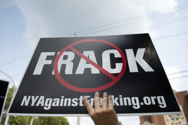 The percent of Americans who oppose hydraulic fracturing, or fracking, is up 11 percent in 2016 over 2015, a Gallup poll found. Photo by Kevin Dietsch/UPI