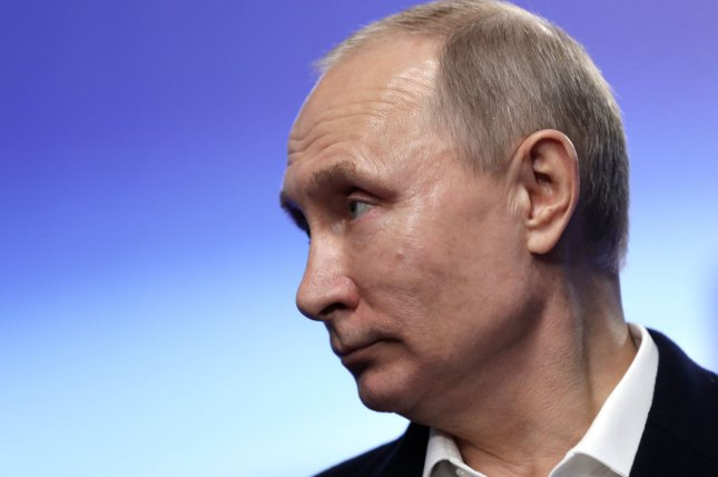 Russian President Vladimir Putin said the national economy is growing slowly, but surely. File Photo by Yuri Gripas/UPI
