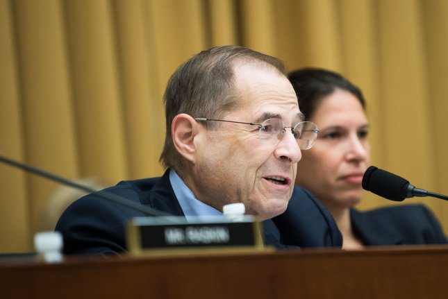 Chairman Jerrold Nadler, D-N.Y., said the interview will happen after November 1 due to Annie Donaldson being in her third trimester of pregnancy. File Photo by Kevin Dietsch/UPI