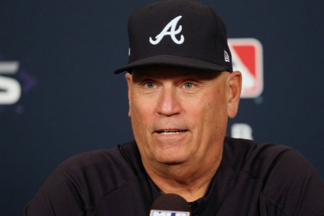 Atlanta Braves manager Brian Snitker has led the team to back-to-back National League East division titles. File Photo by Bill Greenblatt/UPI