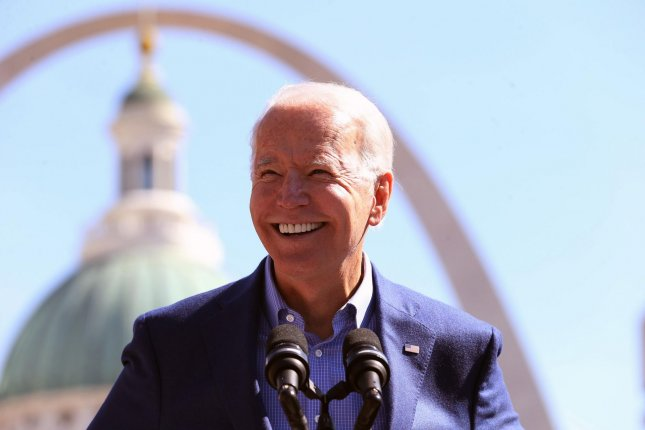 This will be President-elect Joe Biden's first campaign event since the November 3 election. File Photo by Bill Greenblatt/UPI