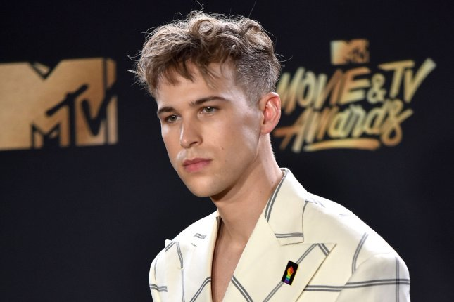 Tommy Dorfman, who played Ryan Shaver on 13 Reasons Why, confirmed she is a transgender woman. Dorfman is pictured here in 2017 at the MTV Movie & TV Awards. File Photo by Christine Chew/UPI