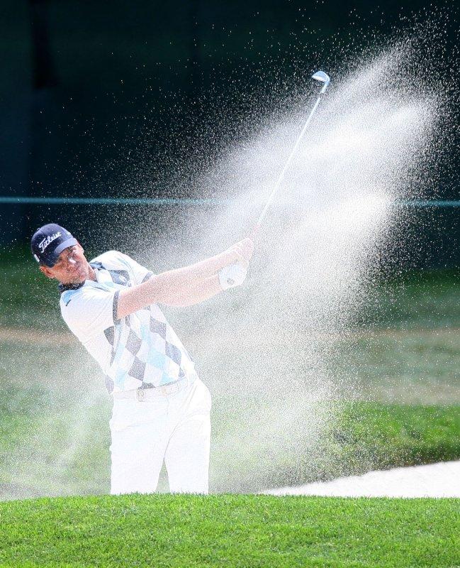 Robert Karlsson of Sweden, shown at the PGA Championship Aug. 8, 2008. (UPI Photo/Scott R. Galvin)