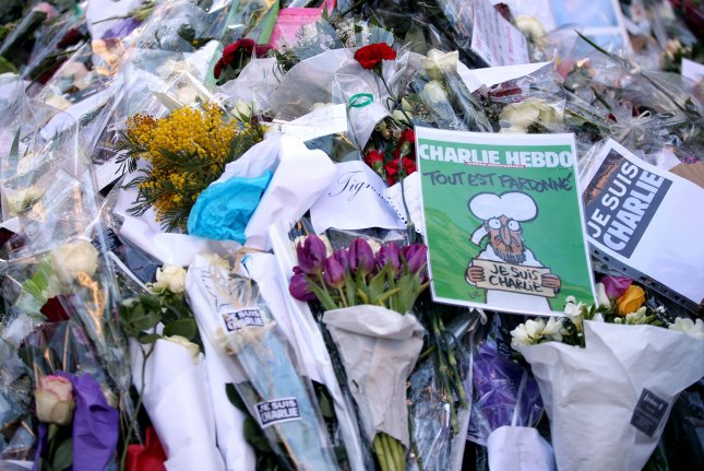 French police in Nice questioned an 8-year-old boy who made statements that were sympathetic toward the gunmen who attacked satirical magazine Charlie Hebdo in Paris, France. Photo by Maya Vidon-White/UPI