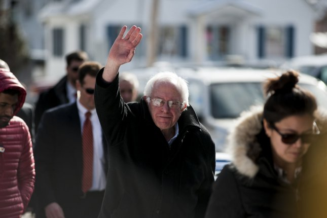 Sen. Bernie Sanders, D-Vt., may not want his supporters to Feel the Bern when they light up a cigarette. Photo by Ryan McBride/UPI