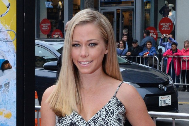 Model and reality television star Kendra Wilkinson attends the premiere of Paddington' at TCL Chinese Theatre in Los Angeles on January 10, 2015. Wilkinson wished Hugh Hefner, her former boyfriend, a happy birthday Sunday. Hefner turned 91. File Photo by Jim Ruymen/UPI