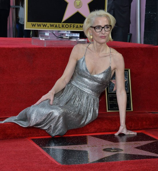 Gillian Anderson said she was excited' to join the cast of The Crown. File Photo by Jim Ruymen/UPI
