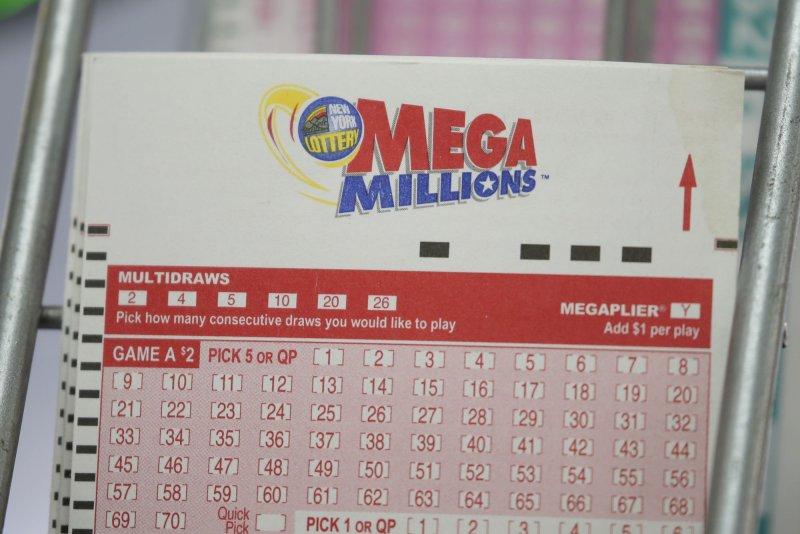 Mega Millions' $850 million jackpot would be the third-largest prize in U.S. history. Photo by John Angelillo/UPI