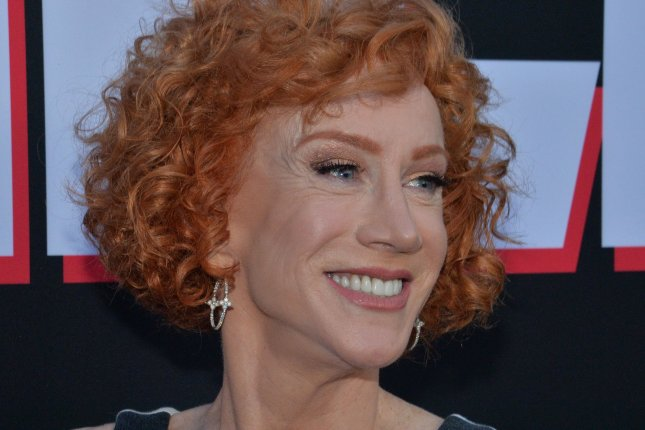 Kathy Griffin gave a health update after sharing her lung cancer diagnosis and past struggle with addiction. File Photo by Jim Ruymen/UPI