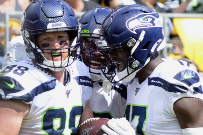 The Seattle Seahawks are now 2-0 on the season after victories against the Cincinnati Bengals and Pittsburgh Steelers. Photo by Archie Carpenter/UPI