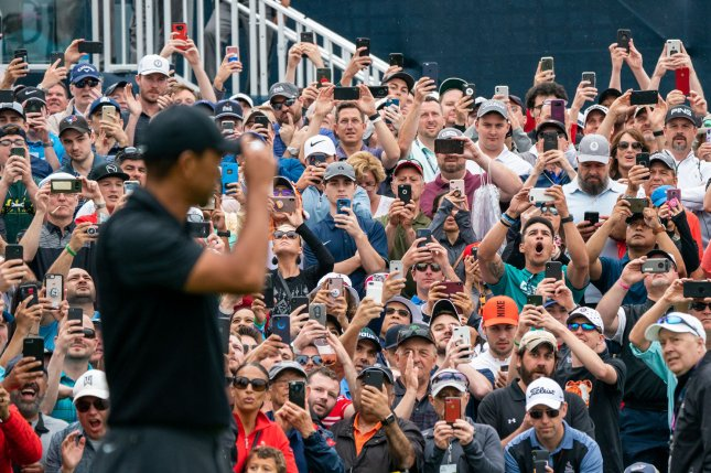 Fans will not be allowed to attend the next four tournaments of the revised PGA Tour schedule due to the coronavirus pandemic. File Photo by Corey Sipkin/UPI