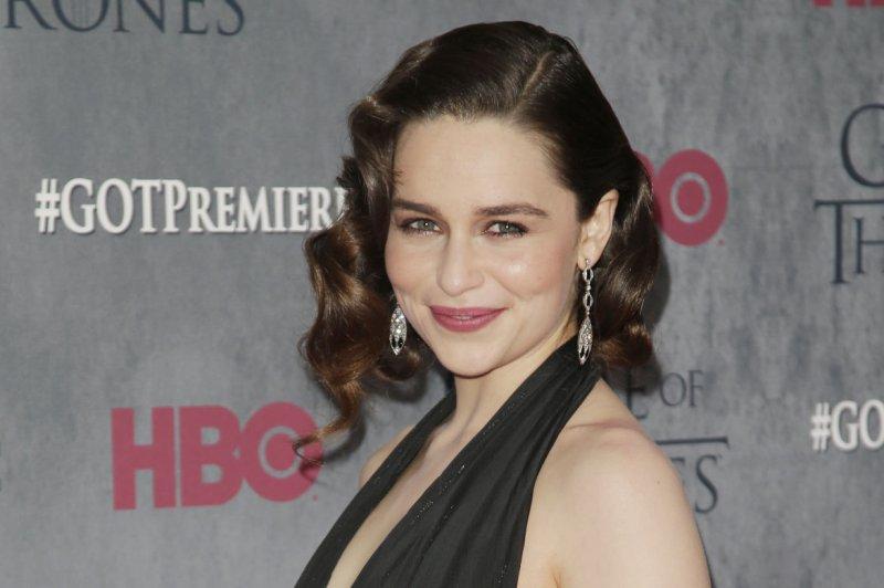 Emilia Clarke. UPI/John Angelillo