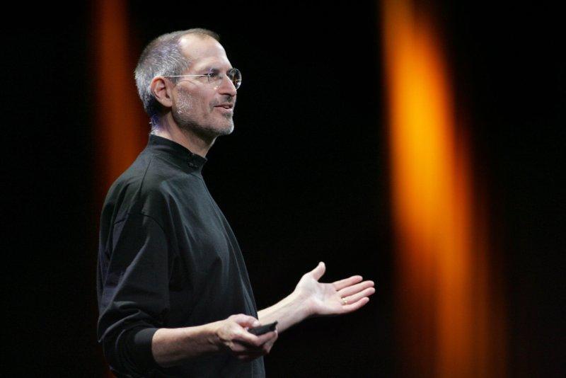 Former Apple Inc. CEO Steve Jobs. (UPI Photo/Terry Schmitt)
