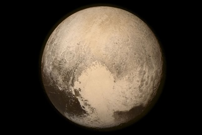 Over the last 15 months, NASA's New Horizons probe has beamed back more than 50 gigabits of data collected during its Pluto flyby. Photo by NASA/APL/SwRI/UPI
