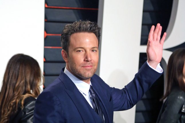 Ben Affleck attends the 2016 Vanity Fair Oscar Party at the Wallis Annenberg Center for the Performing Arts in Beverly Hills on February 28, 2016. Affleck turns 45 on August 15. File Photo by David Silpa/UPI