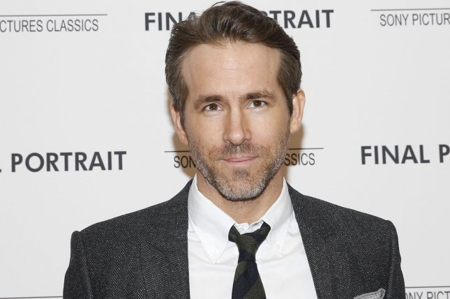 Ryan Reynolds was tricked by his friends Hugh Jackman and Jake Gyllenhaal on social media. File Photo by John Angelillo/UPI