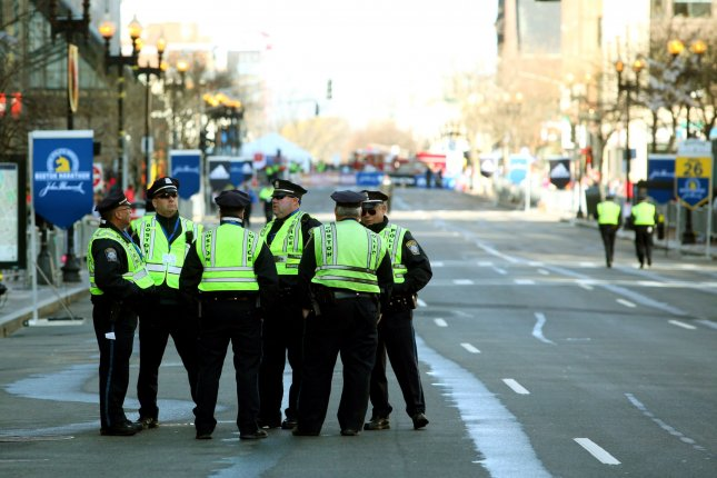 A police union said that dozens of Massachusetts state troopers have quit over the state's vaccine mandate. File Photo Matthew Healey/UPI