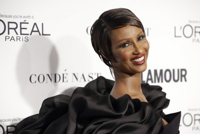 Iman at the Glamour Woman of the Year Awards on November 9, 2015. The model announced her mom's death Friday on social media. File Photo by John Angelillo/UPI