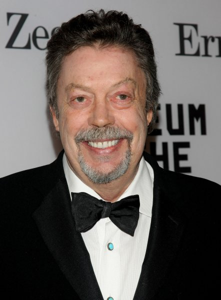 Tim Curry at a Museum of the Moving Image event for Alec Baldwin in February 28, 2011. The actor starred in the 1975 film The Rocky Horror Picture Show. File Photo by Monika Graff/UPI