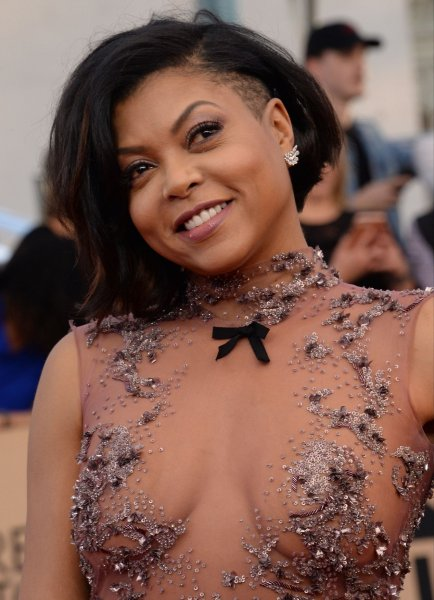 Actress Taraji P. Henson arrives for the the 23rd annual SAG Awards held at the Shrine Auditorium in Los Angeles on January 29, 2017. Photo by Jim Ruymen/UPI