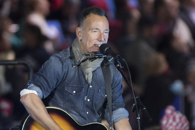 Bruce Springsteen has announced a new film based on his album Western Stars. File Photo by Kevin Dietsch/UPI