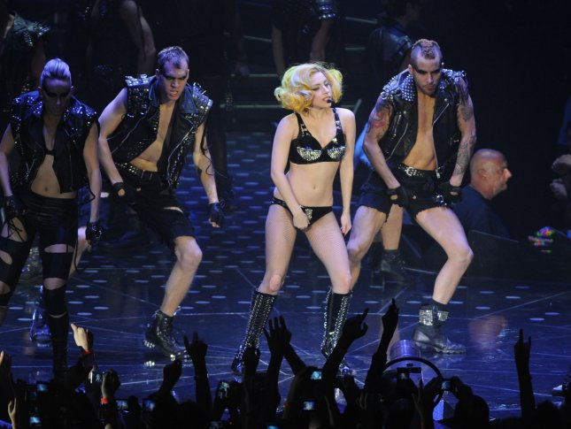 American singer Lady Gaga performs at 02 Arena in London on May 30, 2010. UPI/Rune Hellestad