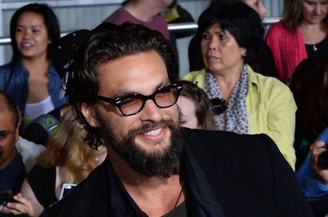 Jason Momoa attends the premiere of Divergent at the Regency Bruin Theatre in Los Angeles on March 18, 2014. File Photo by Jim Ruymen/UPI
