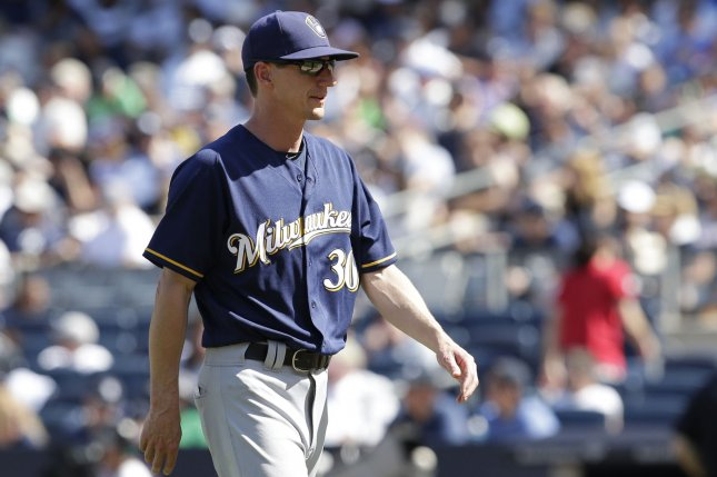Manager Craig Counsell and the Milwaukee Brewers face the Pittsburgh Pirates on Friday. Photo by John Angelillo/UPI