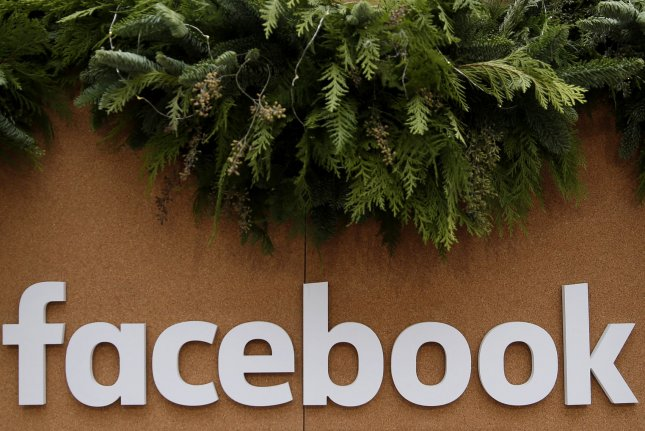 The settlement ends a class-action lawsuit over videos posted to the Facebook platform. File Photo by John Angelillo/UPI