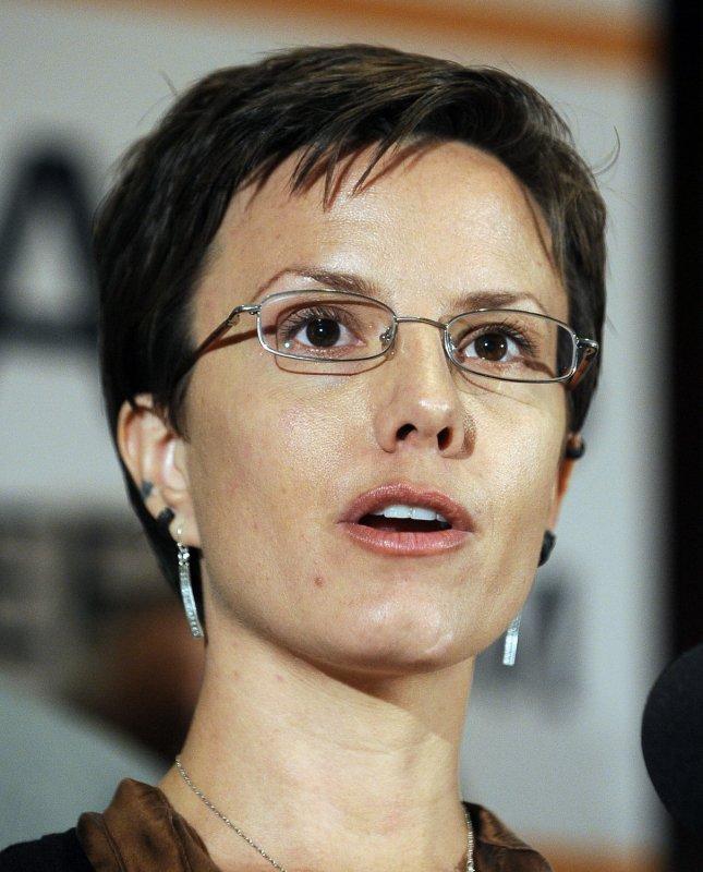 Sarah Shourd, shown in Washington May 24, 2011. UPI/Roger L. Wollenberg