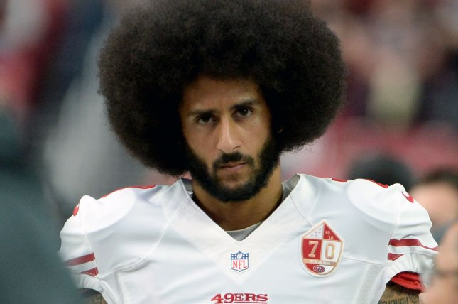 San Francisco's quarterback Colin Kaepernick was benched in the last game against the Chicago Bears, in which the 49ers passing attack netted six yards, the team's lowest in more than 50 years. File photo by Art Foxall/UPI