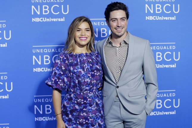 Superstore co-stars America Ferrera and Ben Feldman are set to return for a fifth season of their workplace comedy. File Photo by John Angelillo/UPI