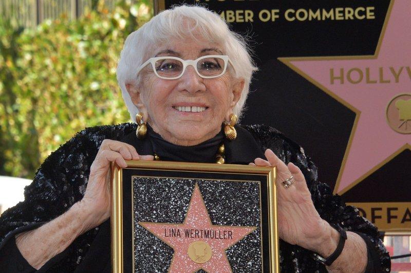 Filmmaker Lina Wertmuller gets star on Hollywood Walk of Fame