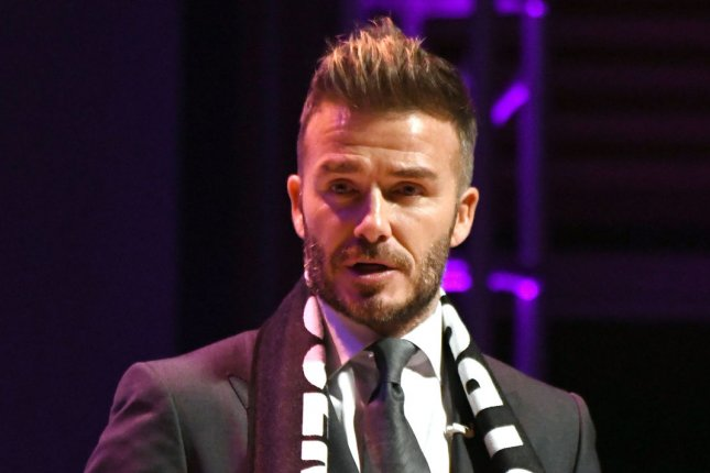 David Beckham's launched MLS club Inter Miami in 2018, but preached patience Monday after the club began its first season with an 0-5 record. File Photo by Gary I Rothstein/UPI